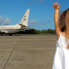 Deca na dugim letovima