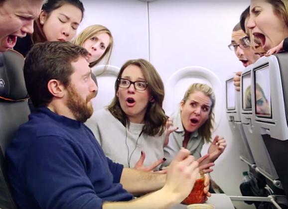 Užina u avionu