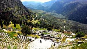 Delfi, Grčka