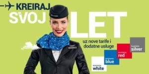 Air Serbia od sada naplaćuje i izbor sedišta!