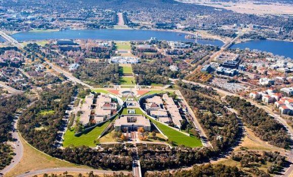Kanbera, prestonica Australije