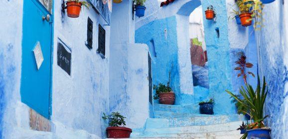 Šefšauen, Maroko: Plavi grad