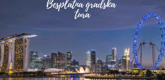 Besplatna gradska tura u Singapuru