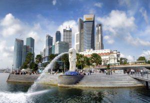 Ludi bogati Azijati – reklama za Singapur
