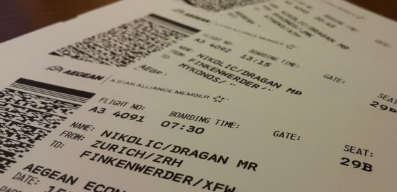 Da li smete da objavite sliku svoje boarding karte?