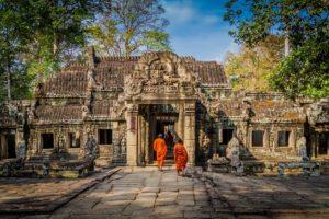 Siem Reap – kapija Angkor Wata