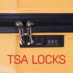 Svi Pulse koferi maju TSA sistem zaštite