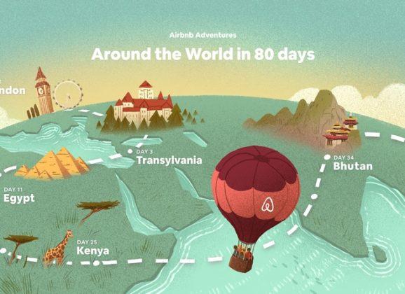 Airbnb – put oko sveta za 80 dana
