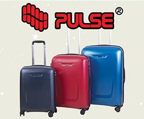 Pulse koferi postoje u tri veličine i šest boja