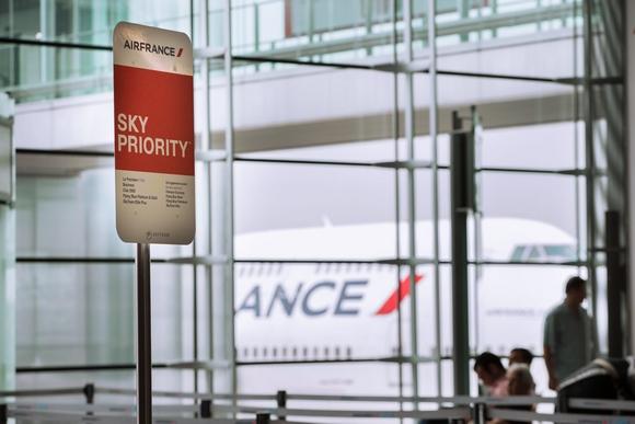 Sky Priority je jedna od pogodnosti na aerodromu Šarl de Gol