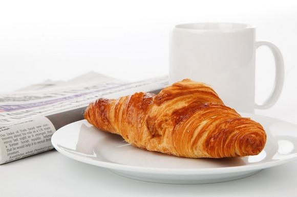 Kafa i pecivo su standardni doručak u Italiji