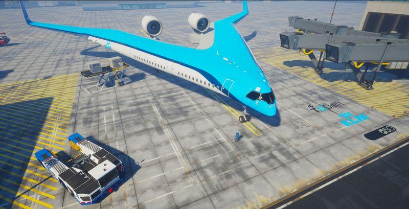 KLM otkrio dizajn nove letelice u obliku slova V