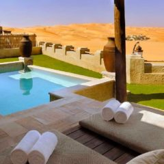 Qasr Al Sarab – hotel u srcu arapske pustinje