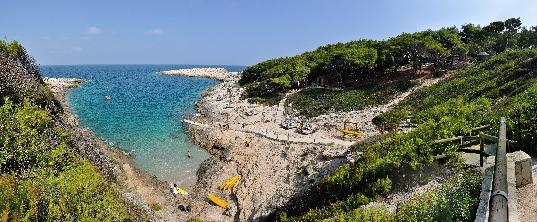 Tremiti ostrva panorama