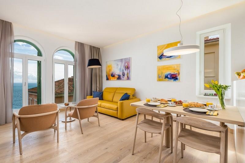 Vila u kojoj se nalazi apartman OLA smeštena je u samom centru Opatije