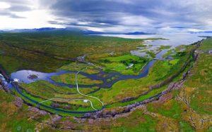 Tektonske ploče vidljive golim okom na Islandu