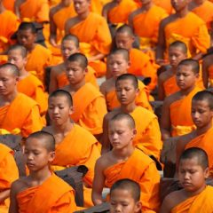 Milion dece u Tajlandu meditiralo za mir u svetu