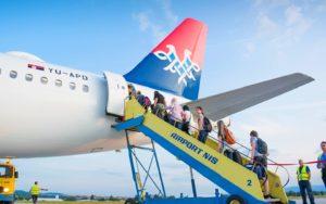 Air Serbia leti iz Niša