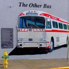Greyhound bus station – simbol ljudskih prava