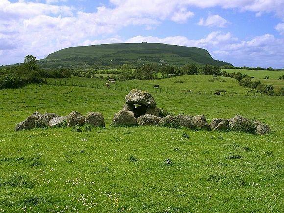 Dolina Slajgo vezuje se za brojne irske legende i mitove
