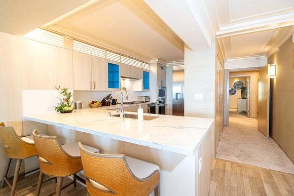 Svaki apartman u Espacio hotelu ima modernu kuhinju