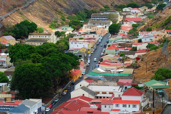 Džejmstaun je glavni grad ostrva Sveta Jelena