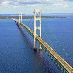 Mighty Mac – najduži viseći most na Zapadu