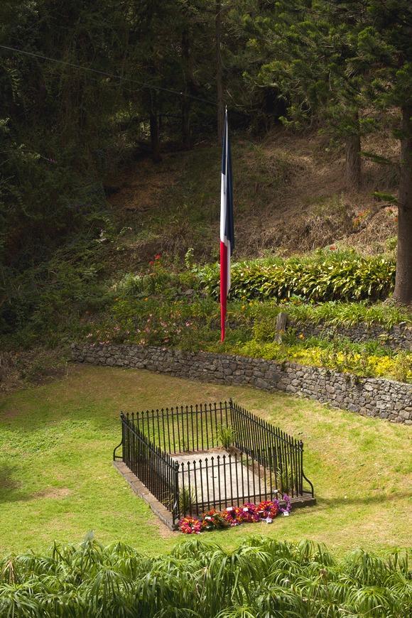 prazan Napoleonov grob na Svetoj Jeleni