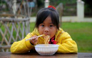 Nudle se srču u Aziji