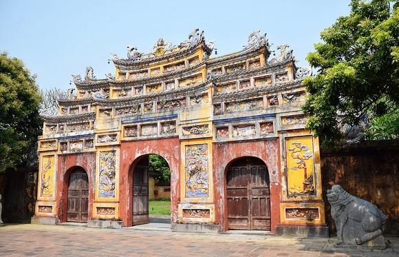 Hue ima očuvanu tradicionalnu arhitekturu