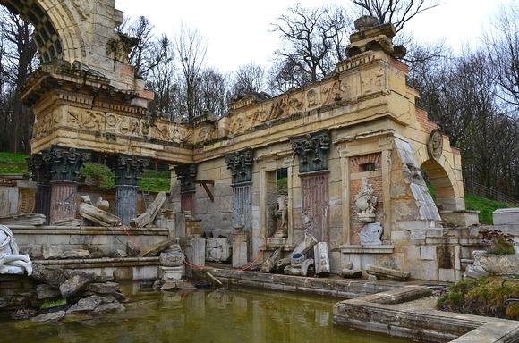 Rimske ruševine su veštačka tvorevina nastala krajem 18. veka