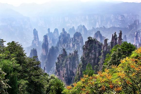 Prirodne lepote Kine su vredne posebne pažnje turista