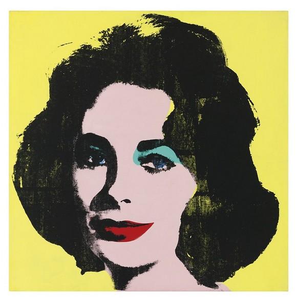 Liz je jedan od mnogih portreta Elizabet Tejlor koje je Vorhol napravio