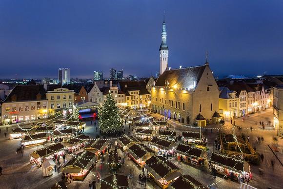 Estonska prestonica vam možda nije na vrhu spiska destinacija koje treba posetiti ove zime, ali ona je poznata po svom božićnom marketu