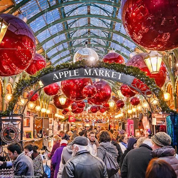 London je poznat po više šarmantnih božićnih marketa, ali tri se posebno izdvajaju