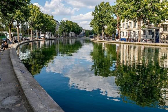 Kanal Sen Marten možda nije popularan kao Sena, ali je podjednako lep