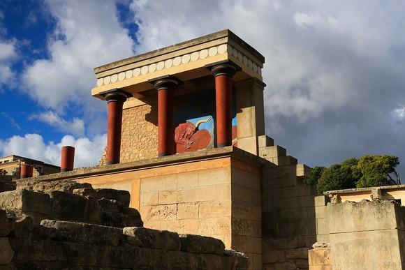 NaKritu je nastala drevna minojska civilizacija