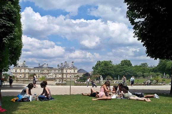 Luksemburški vrtovi su mesto na kome možete da ose opustite i uživate