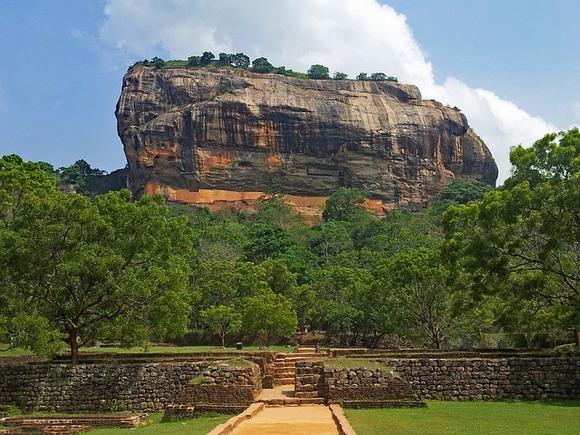 Uspon na Sigiriju vredi svog truda