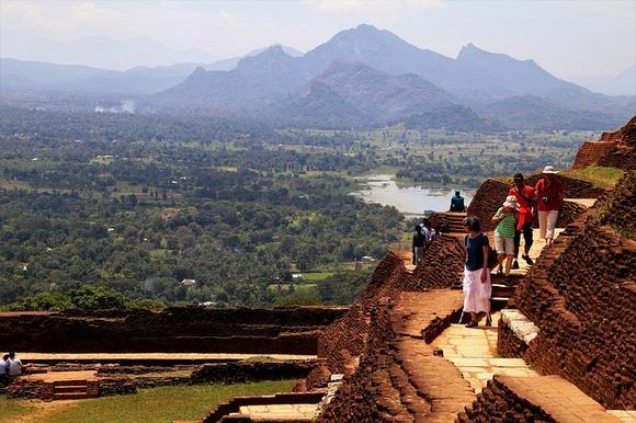 Uspon do vrha Sigirije nije lak, ali se isplati