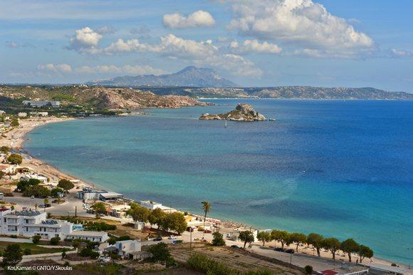 Na Kosu posetioci na raspolaganju imaju brojne plaže