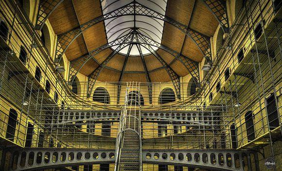 U zatvoru Kilmainham Gaol boravili su svi značajnipobunjenici protiv britanske vladavine