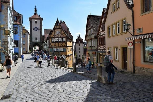 Ovaj mali nemački grad nudi neke od najlepših prizora na kontinentu