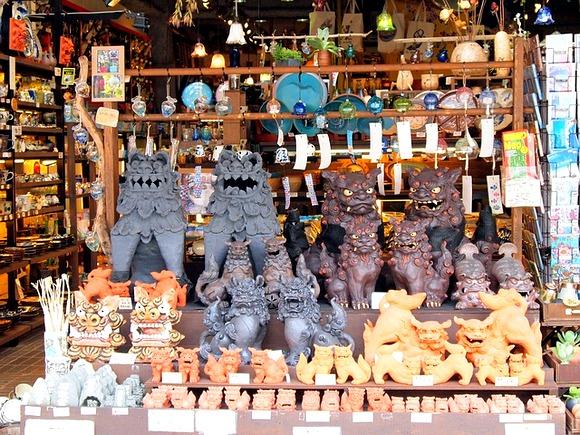 """Zaštitni znak Okinave su figure """"Shisaa"""" lavova"""