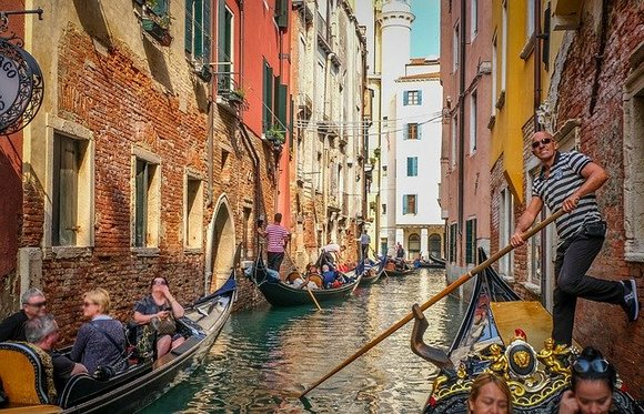 Venice, which is on the UNESCO World Heritage List, is one of the most visited destinations in the world