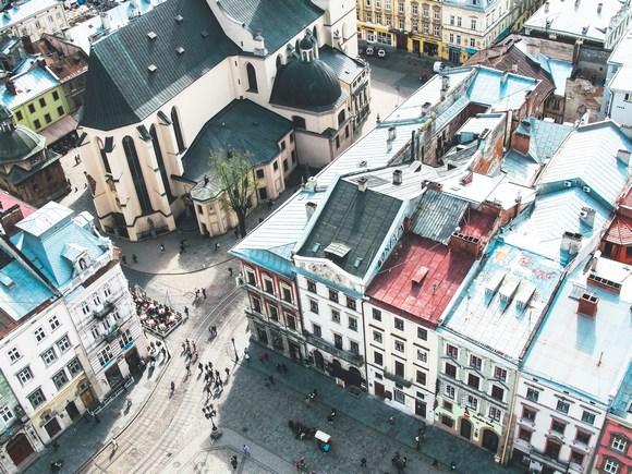 Trg Rinok je najlepsi trg u Ukrajini