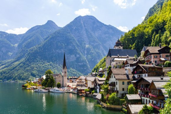 Najlepsi austrijski grad na jezeru je Halstat