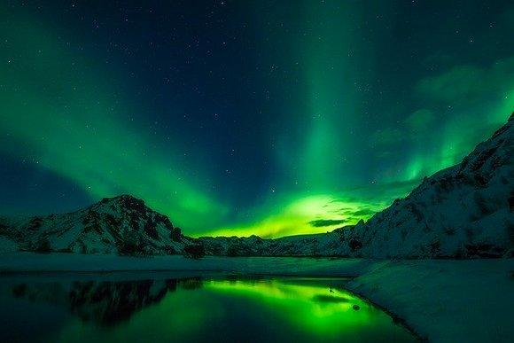 Island je zimi destinacija za posmatranje polarne svetlosti