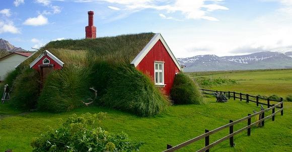 Čak su i kuće na Islandu u harmoniji sa prirodom