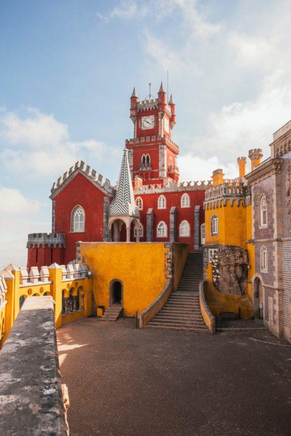 Sintra je prelep grad dvoraca